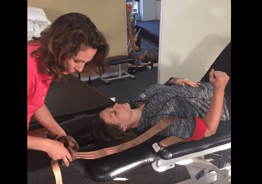 Clinical Pearl – Use a stabilization belt to help mobilize a stiff elbow